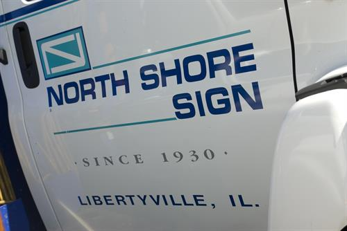 North Shore Sign Truck Logo