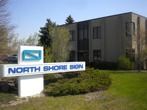 North Shore Sign Freestanding Sign