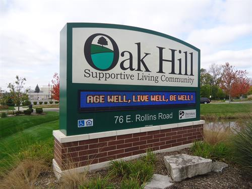 Oak Hill Supportive Living Community Message Center