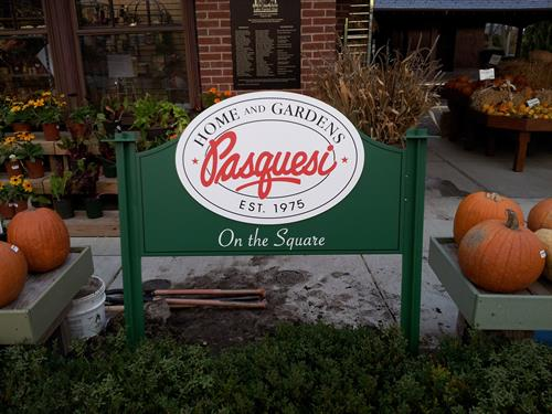 Pasquesi Freestanding Sign