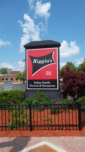 Riggio's Freestanding Sign