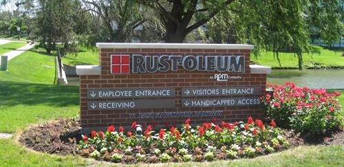 Rust-Oleum Freestanding Sign