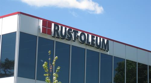 Rust-Oleum Wall Sign