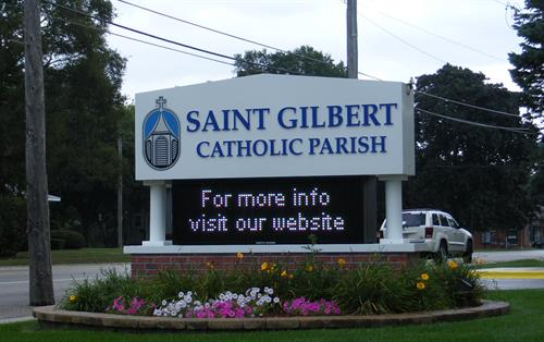 St. Gilbert Catholic Parish Message Center