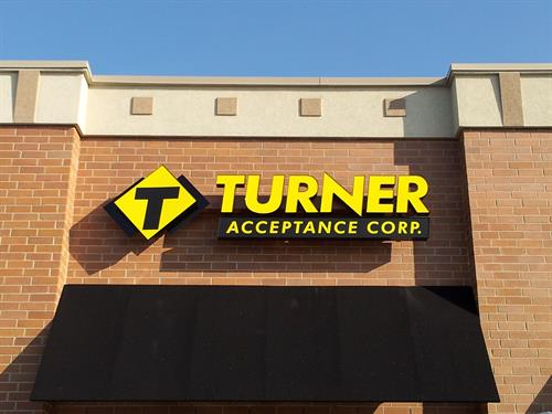 Turner Acceptance Corp. Wall Sign