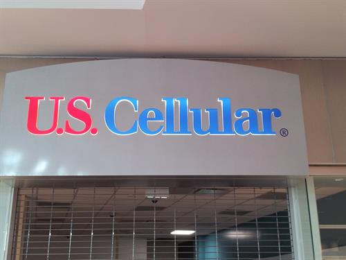 US Cellular Interior Sign