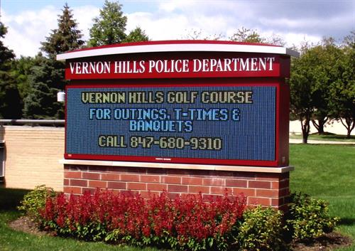 Vernon Hills Police Department Message Center