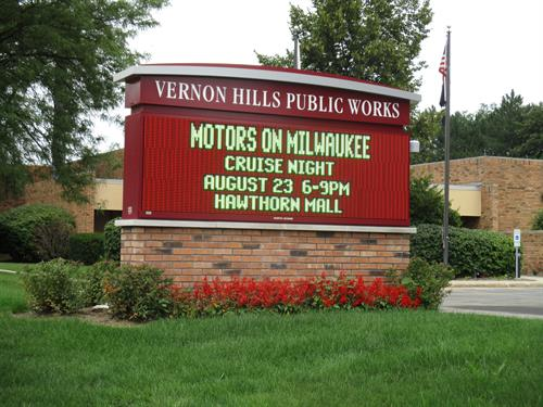 Vernon Hills Public Works Message Center