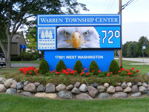 Warren Township Center Message Center
