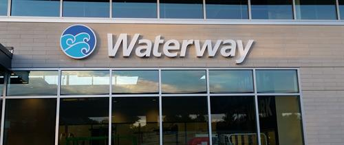 Waterway Wall Sign