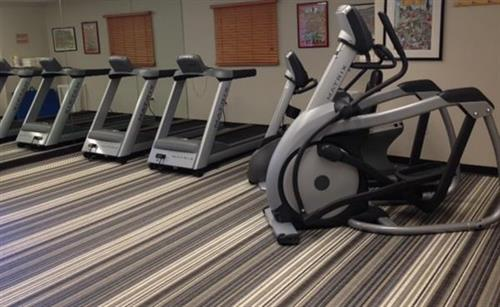 Free use of fitness facility