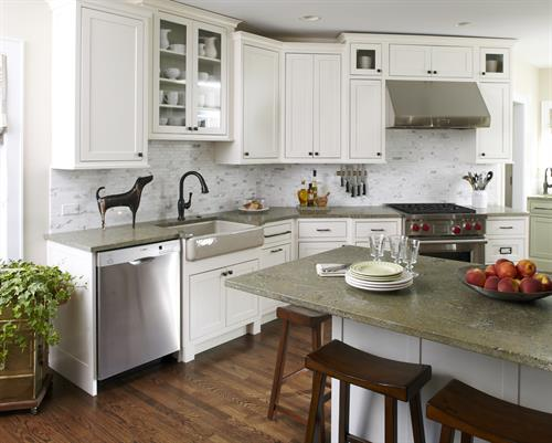 With clever space planning, every inch works in this bright new kitchen.