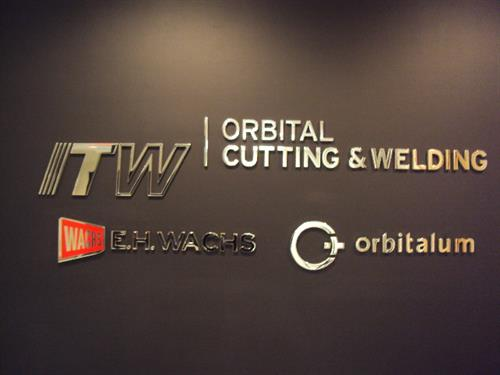 Stainless Steel Dimensional Lettering