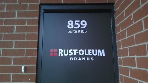 Vinyl Door Graphics