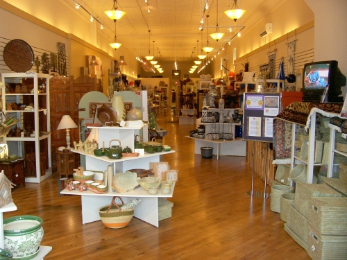 A store full of unique gifts and home decor