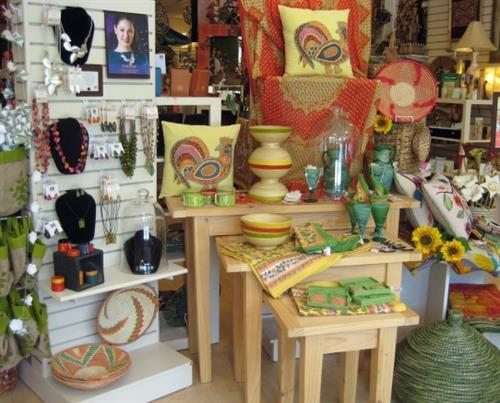 Fairly traded crafts from artisans in 38 countries