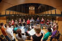 The world-class Music Center offers students an impressive venue to make music.