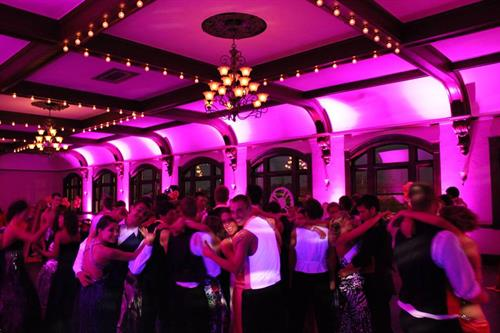 Spohn Ballroom reception dance party