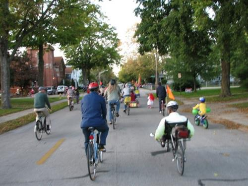2013 Bicycle Parade in Goshen