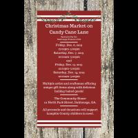 Christmas Market on Candy Cane Lane
