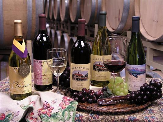 Dahlonega Tasting Room featuring Habersham Wines