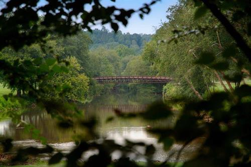BRIDGE OVER CHESTATEE RIVER