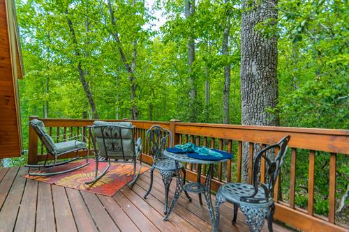 Carriage House Hideout Deck