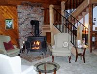 Warm & inviting lobby area