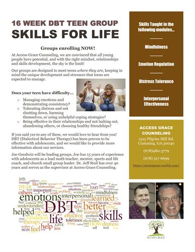 DBT Group for Teens