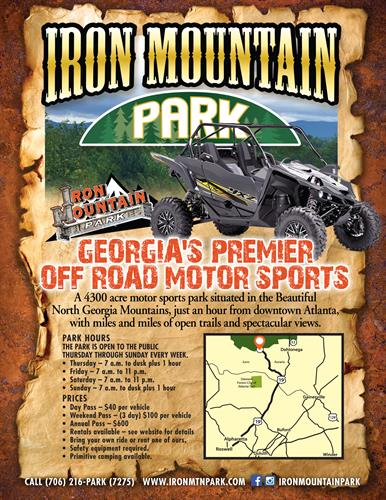 Iron Mountain Flyer & Website - Designed Face Book Page & Promotional Material