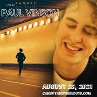 Paul Vinson :: Indie-Pop storytelling LIVE at Canopy + the Roots