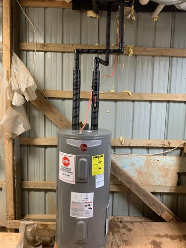 New Rheem 50 Gal electric