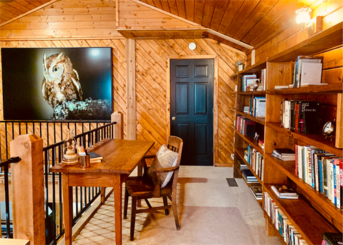 Dive into a great book and lose track of time in the MTL library loft.