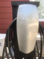 Two Tesla chargers for our guests