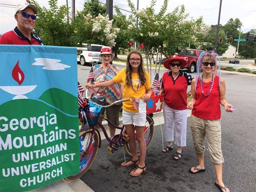 Dahlonega July 4th Parade 2016