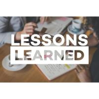 Lessons Learned : Entrepreneurs