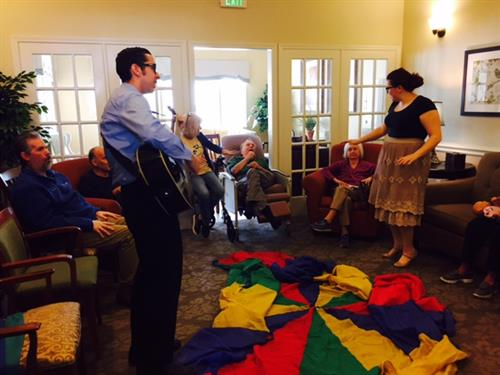 Thank you TWU Music Therapy Practicum Students