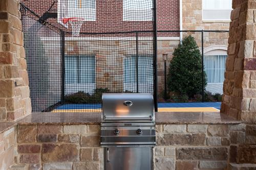 Fully equipped grills are perfect for socializing with friends and family!