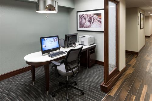 Our 24 hour Business Center comes with fully equipped