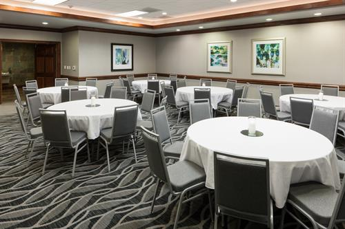 The Cowboy Room is our largest meeting space, accommodating up to 50 guests.