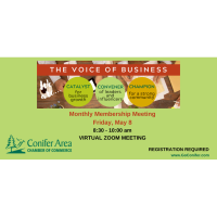 Monthly Membership Meeting  - Virtual