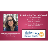Kick-Starting Your Job Search - a 2-Part Webinar Series