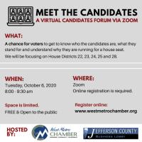 Meet the Candidates Virtual Forum