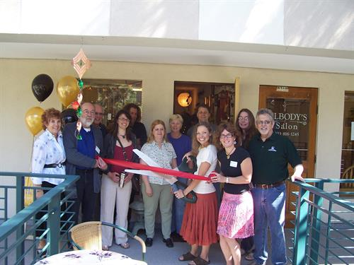Very 1st Ribbon Cutting in 2008