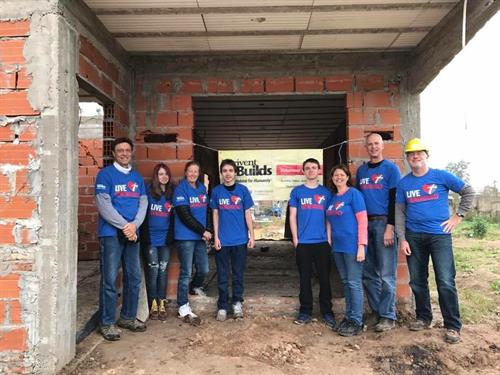 Thrivent Builds with Habitat for Humanity in Argentina July-August 2017