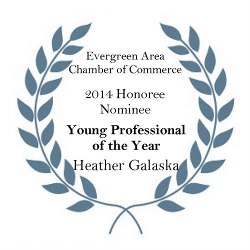 2014 Evergreen Area Chamber of Commerce Young Professional of the Year Nominee
