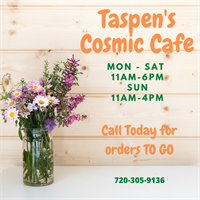 Taspen's Cosmic Kitchen - Conifer