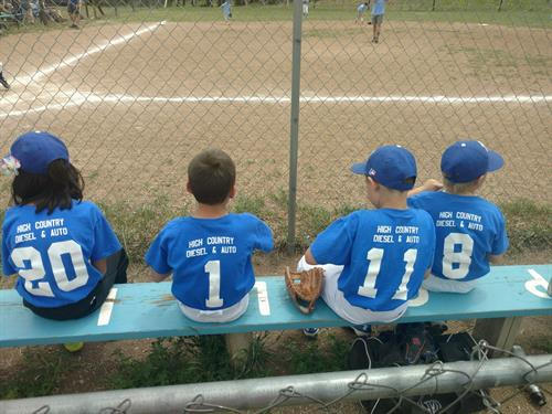 We are honored to sponsor this PCLL Coach-pitch team, 2017!! GO ROYALS!