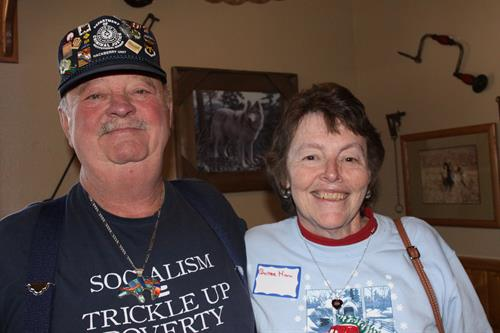 Pinecam 2015 Christmas party held at the Rustic Station in Bailey, CO