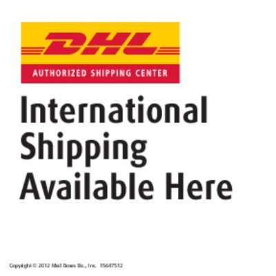 DHL International Shipping Services available